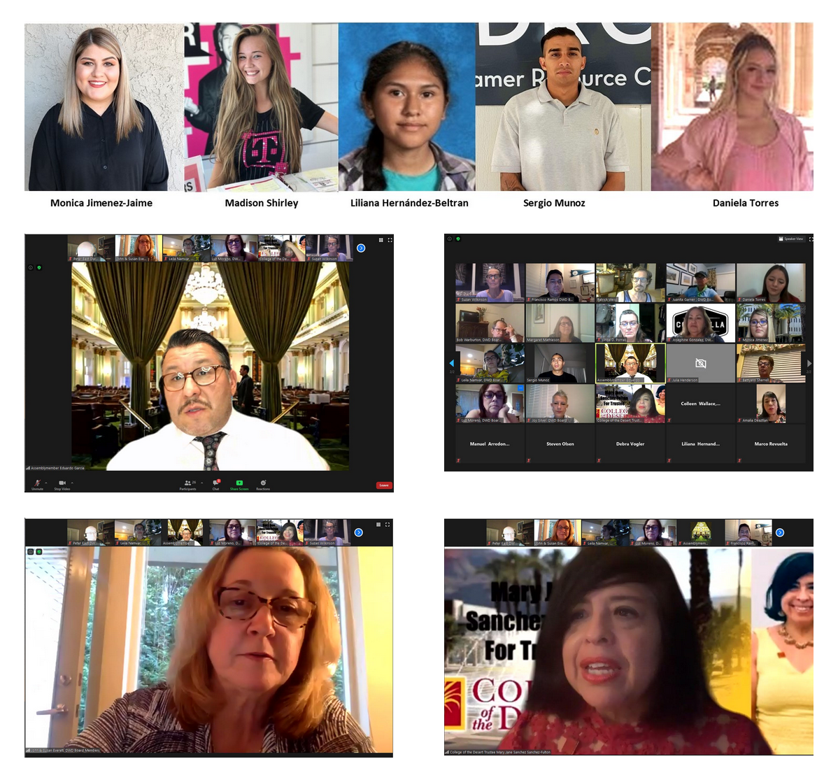 Celebrating Democratic Women of the Desert 2020 Scholars